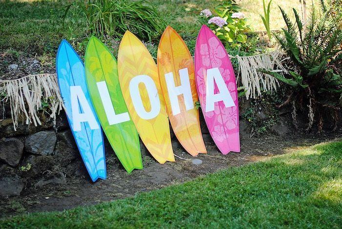 Moana Hawaiian Luau Birthday Party - #Birthday #Hawaiian #Luau #Moana #Party #hawaiianluauparty