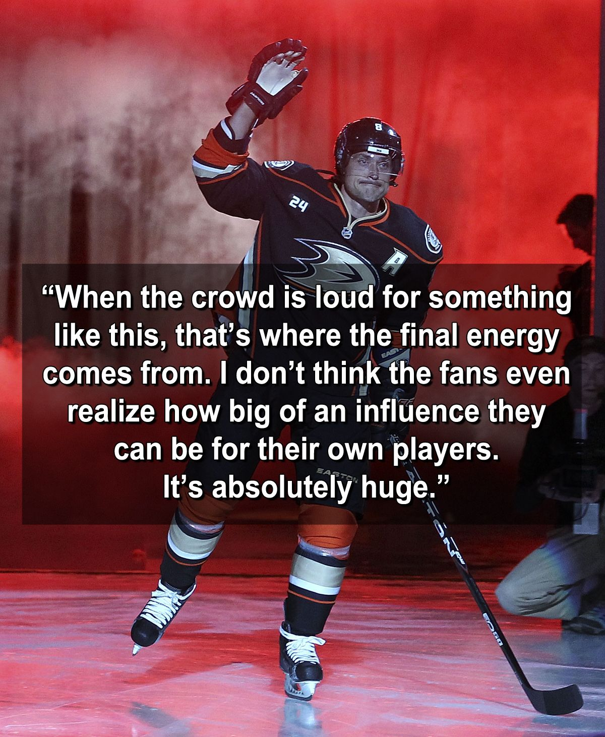 Cool quote from Teemu Selanne.
