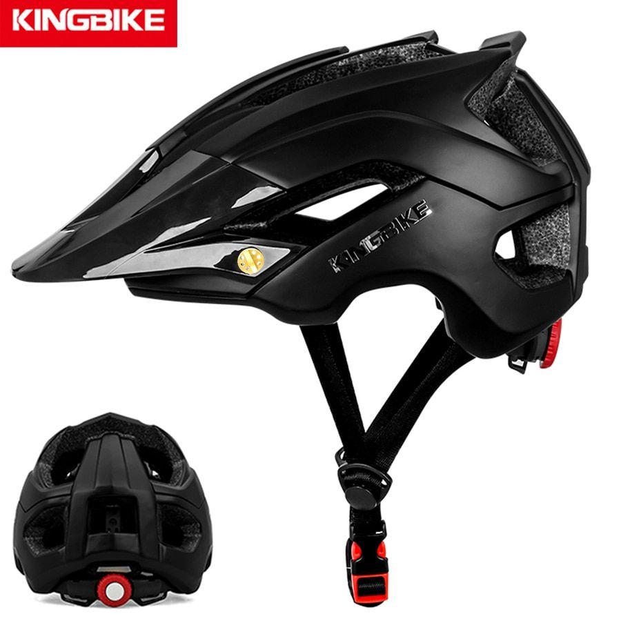 Kingbike Bicycle Helmet Cycling Helmet Detachable Visor Casco