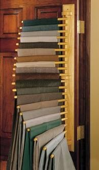 Pants Organizer! Donu0027t Have This Many, But It Sure Would Save The Hassle Of  Stacking Them On A Closet Shelf.