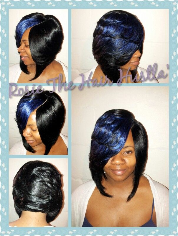 Layered Quickweave Bob With Invisible Part Youtube Rosiethehairhustla1 Fb Rosetta Thehairhustla Hoskins Quick Weave Hairstyles Hair Styles Cool Hairstyles