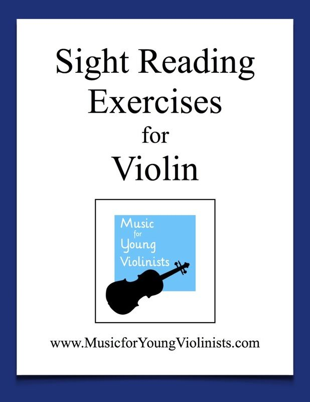 Sight Reading Exercises for Violin (FREE download) | Music Ed  in