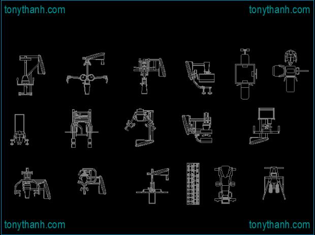 gym exercise cad block gym equipment cad block autocad drawing rh pinterest com