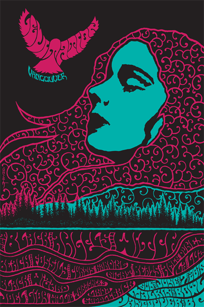 The 30 Best Music Posters of 2015 (So Far) Rock poster