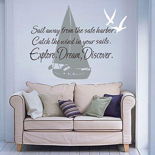 Sail Boat And Sea Gulls Wall Decal Mark Twain Quotes¡±Sai... https://www.amazon.com/dp/B00W1EYFCW/ref=cm_sw_r_pi_dp_x_JE1qzbHBKXDRZ