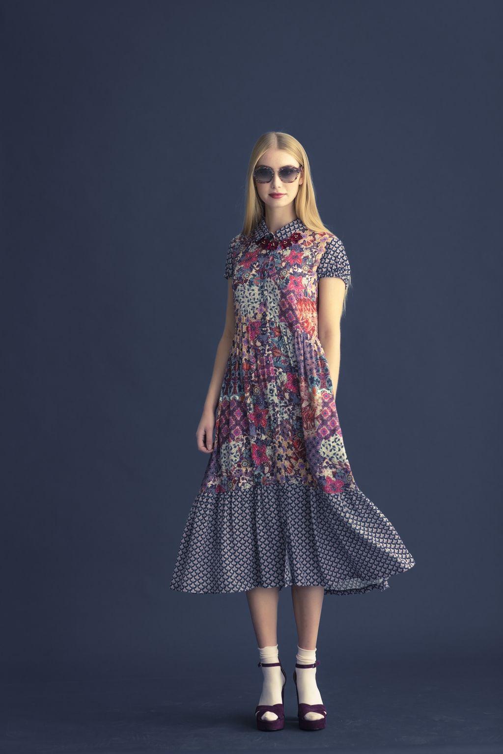 Dress by Knipmode pdf sewing pattern
