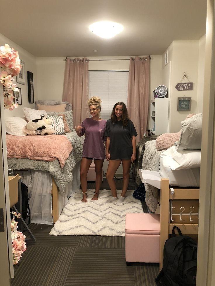 49 süße Ideen für Schlafsäle, von denen wir über 34 #dormroomideas #dormroom #dormroomforgirls besessen sind #collegedormrooms
