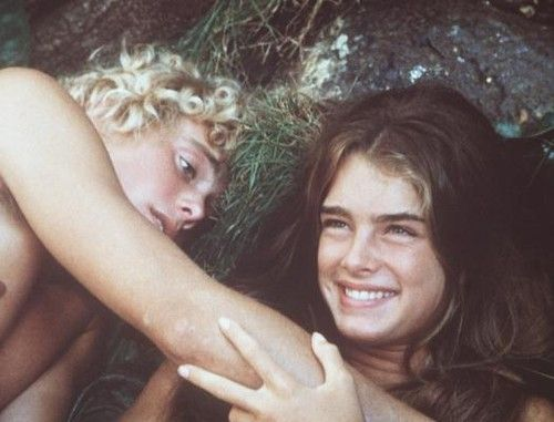 Brooke Shields And Christopher Atkins  Movies And Tv -7737