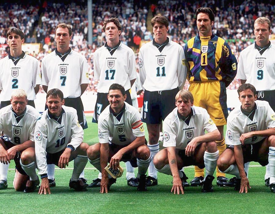 Where are they now? England's Euro 1996 squad Euro 1996