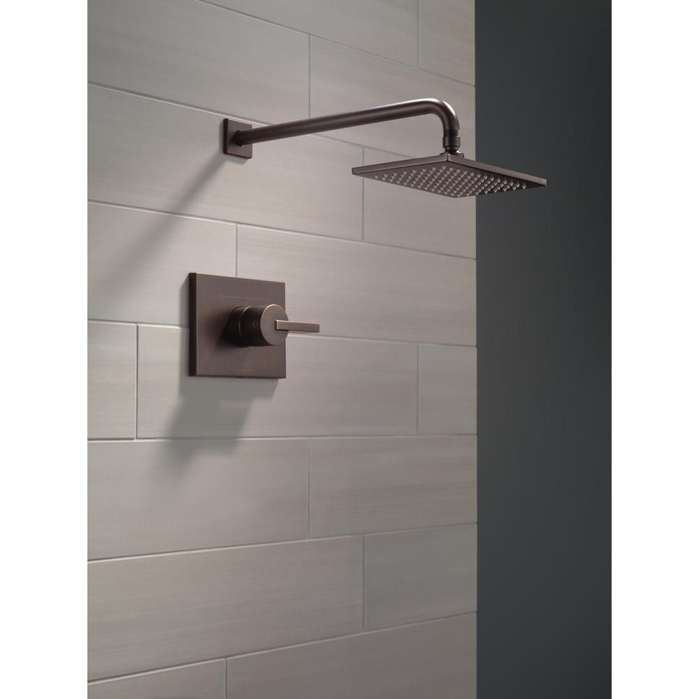 Delta Vero 1-Handle 1-Spray Raincan Shower Faucet Trim Kit in ...