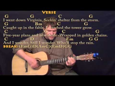 Who\'ll Stop the Rain (CCR) Strum Guitar Cover Lesson with Chords ...