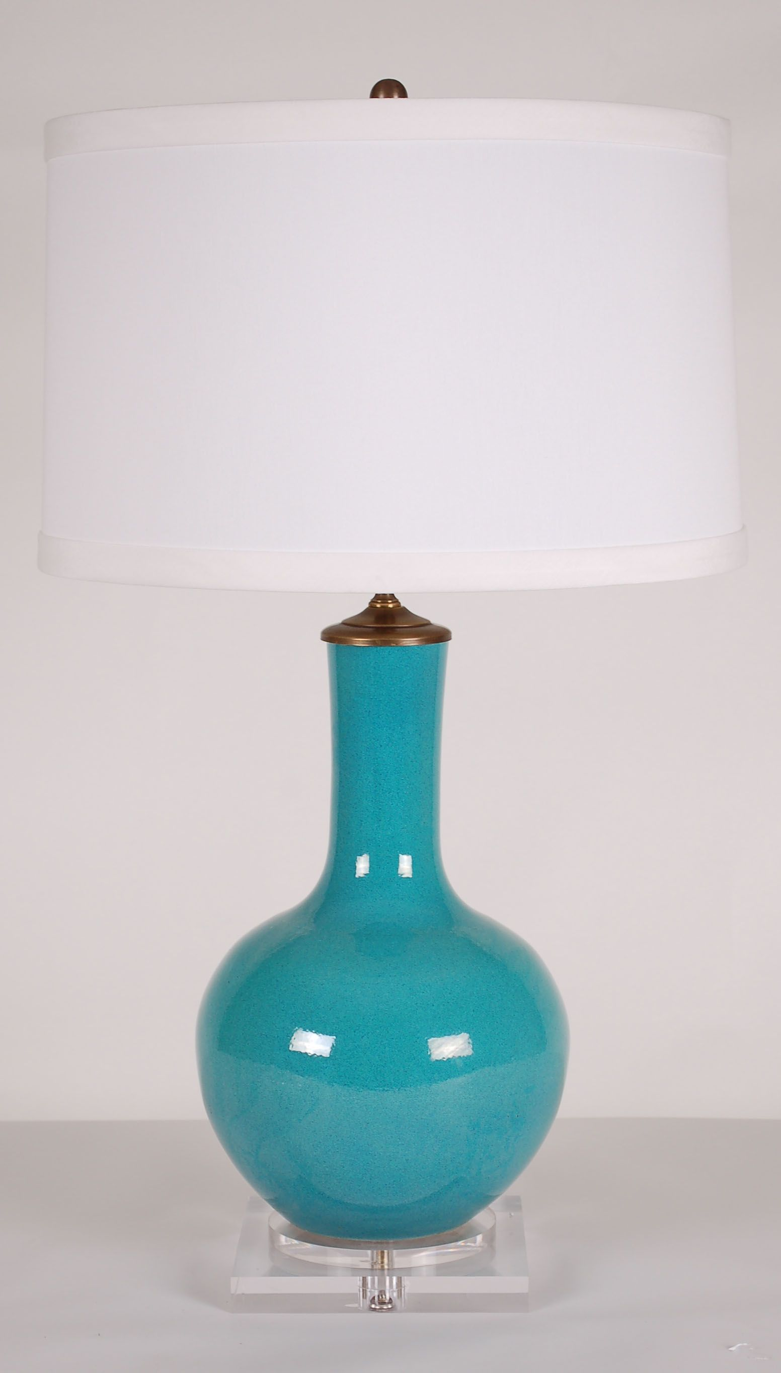 Blue Gourd Lamp: Avala And Summerour Lamps