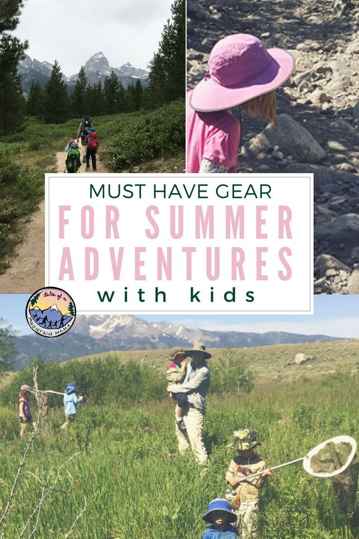 Must-Have Gear items for Summer Adventure with Kids ...