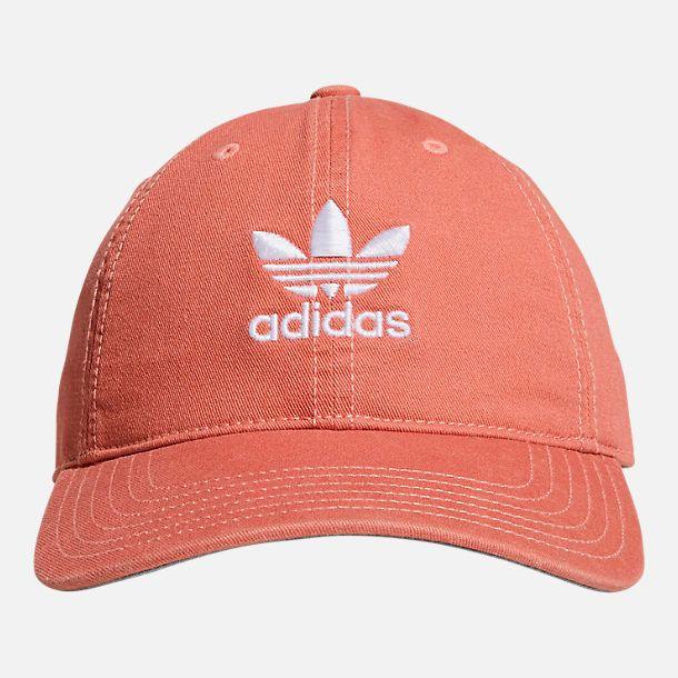 adidas Originals Precurved Washed Strapback Hat  a73e594caf5