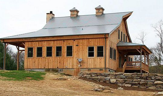 Homes Ponderosa Country Barn Sge609