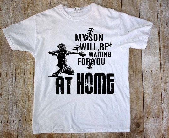 Softball catcher shirts