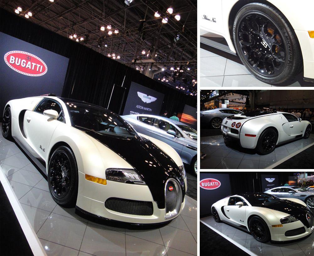 2012 Bugatti Veyron Grand Sport Blanc Noir