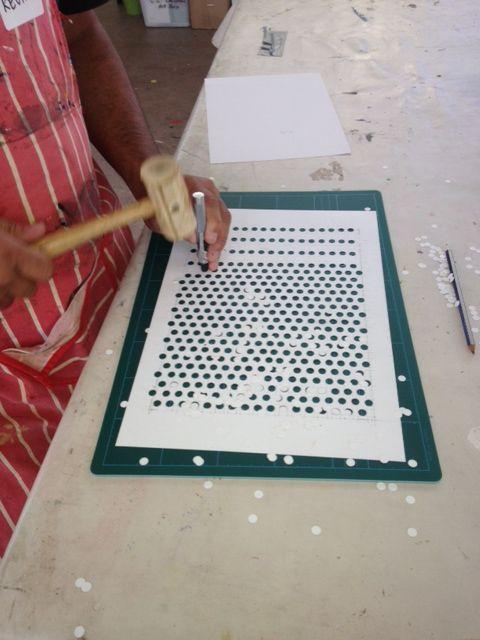 creating a benday dot stencil art projects pinterest pop art