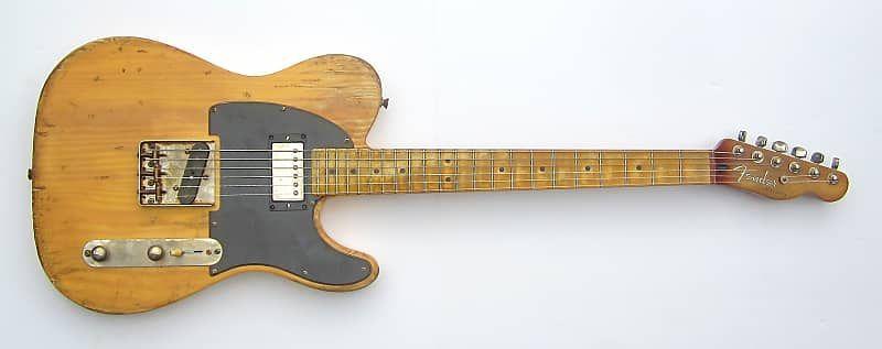 Heavy Relic Fender Telecaster Micawber Keith Richards Iconic Blonde Telecaster One Of A Kind Gordon Custom Guitars Reverb Telecaster Fender Telecaster Keith Richards