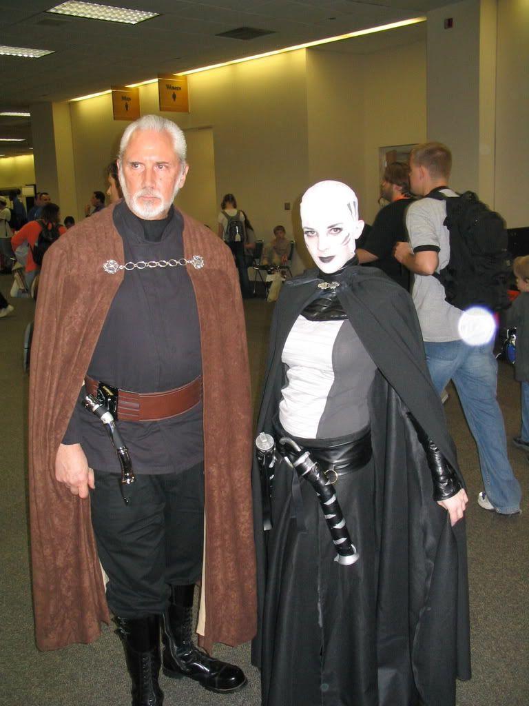 Darth Sidious And Asajj Ventress Star Wars Costumes