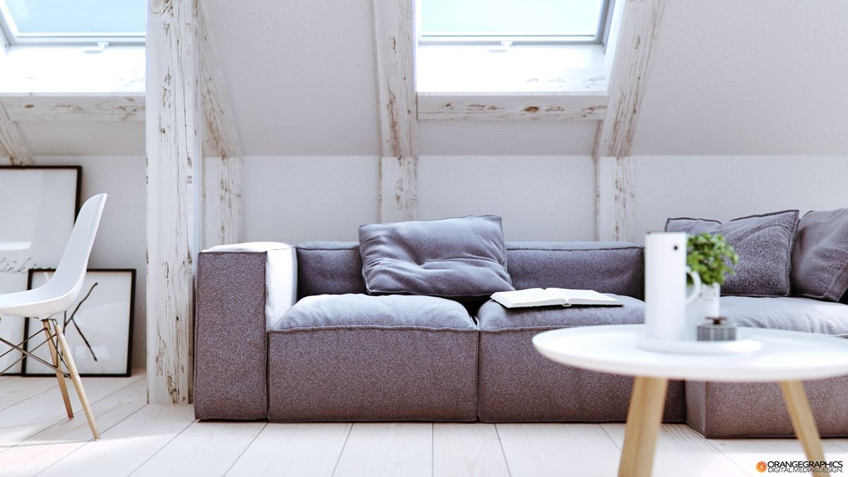 Exceptionnel Overstuffed Sofa