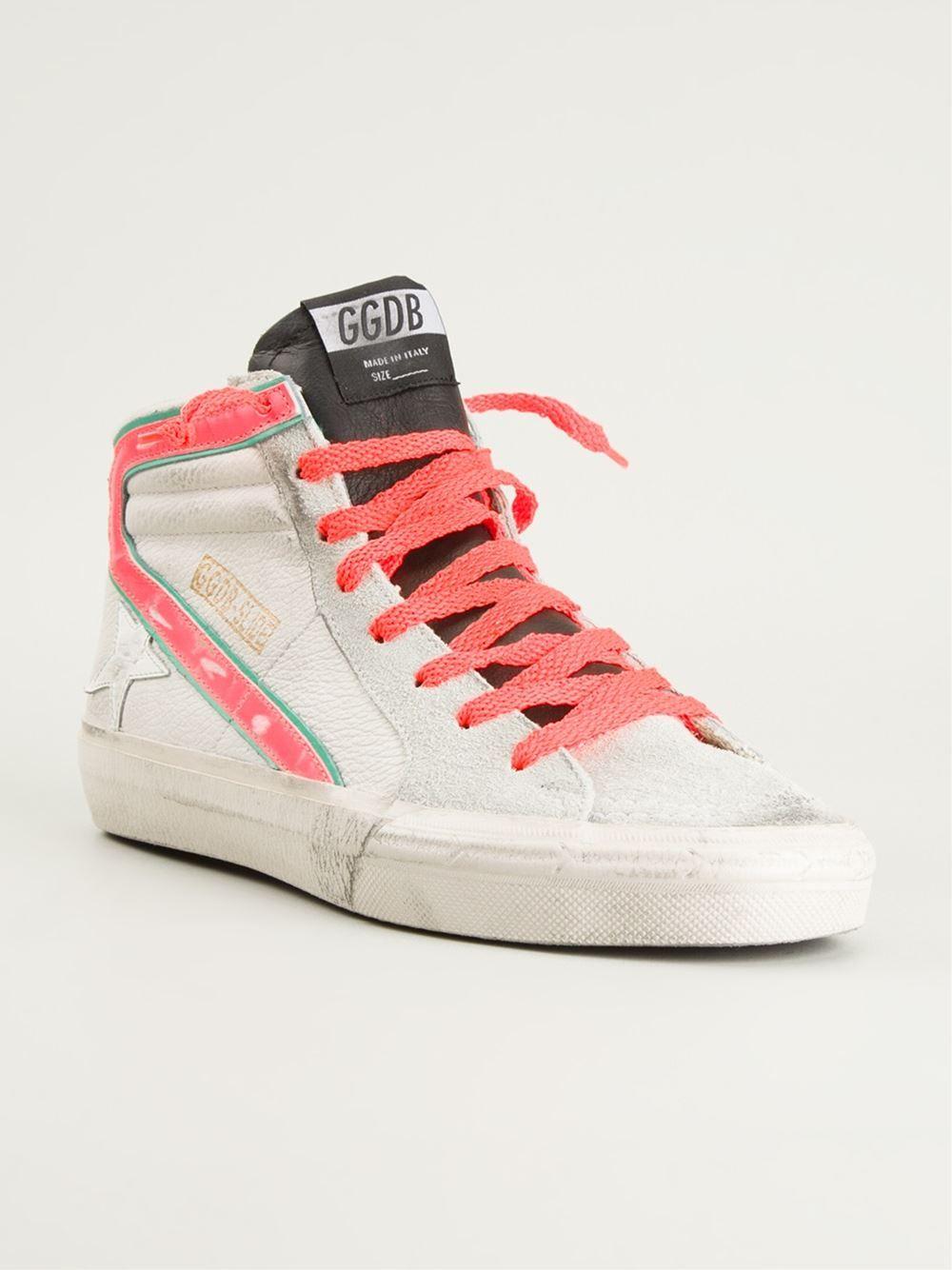 5464876828be Golden Goose Deluxe Brand  slide  Hi-top Sneakers - Luuks - Farfetch ...