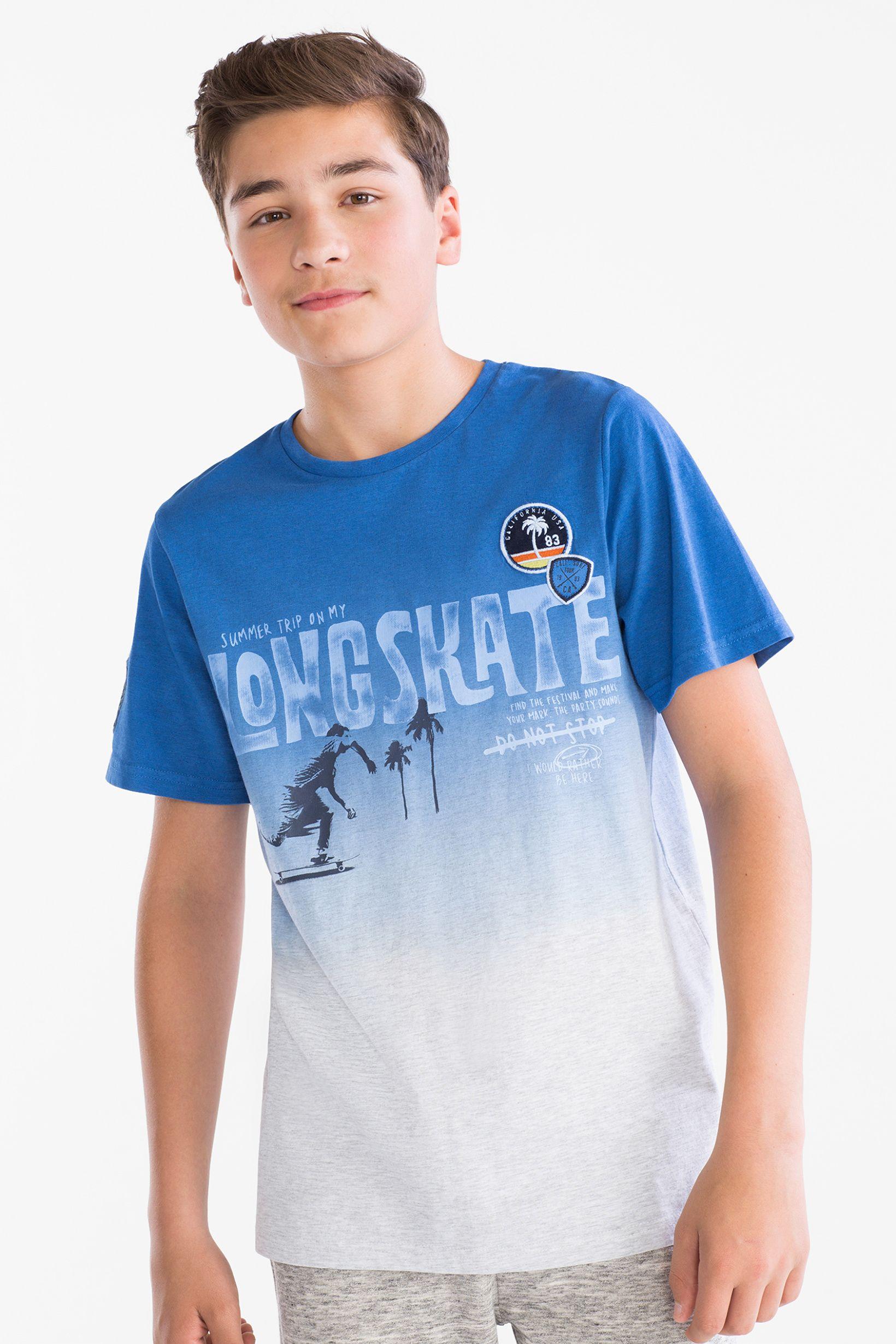 Camiseta De Manga Corta Algodon Organico C A Roupas Infantil Masculina Camisetas Estilosas Moda Infantil