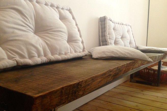 Möbelpflege für die neue Echtholzbank auf wwwchetlaviecherie