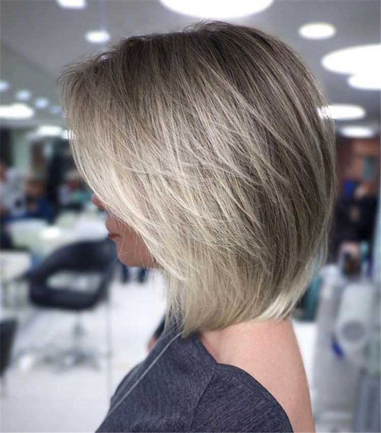 Stunning 80 Photos With Creative Hairstyles For 2019 2020 Medium Hairstyle Page 4 Of 80 Inspiration Diary Modern Haircuts Bob Hairstyles Layered Bob Hairstyles