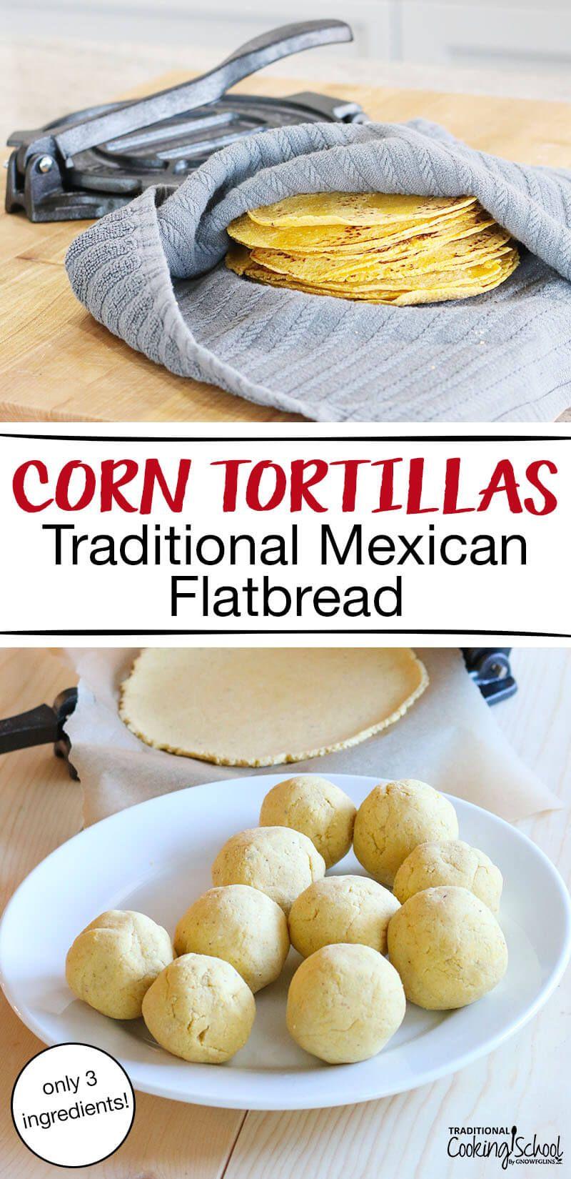 3-Ingredient Corn Tortillas #authenticmexicansalsa