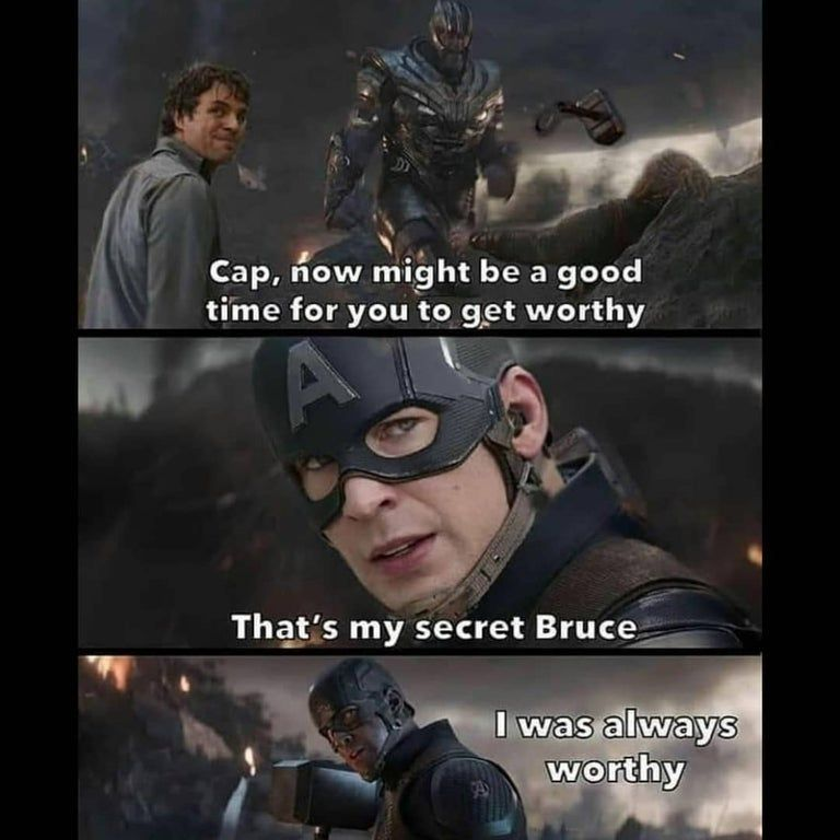 Cap's secret..
