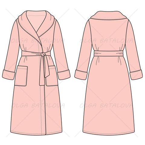 women s bath robe fashion flat template in 2018 flats fashion