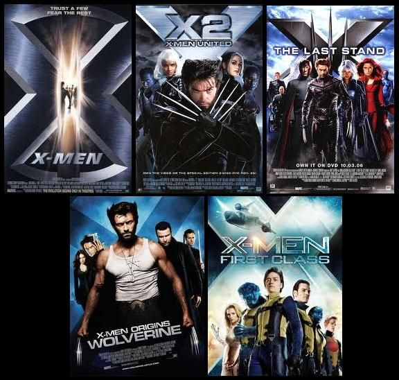 X Men X2 X Men The Last Stand X Men Origins Wolverine X Men First Class Good Movies Love Film Marvel Films