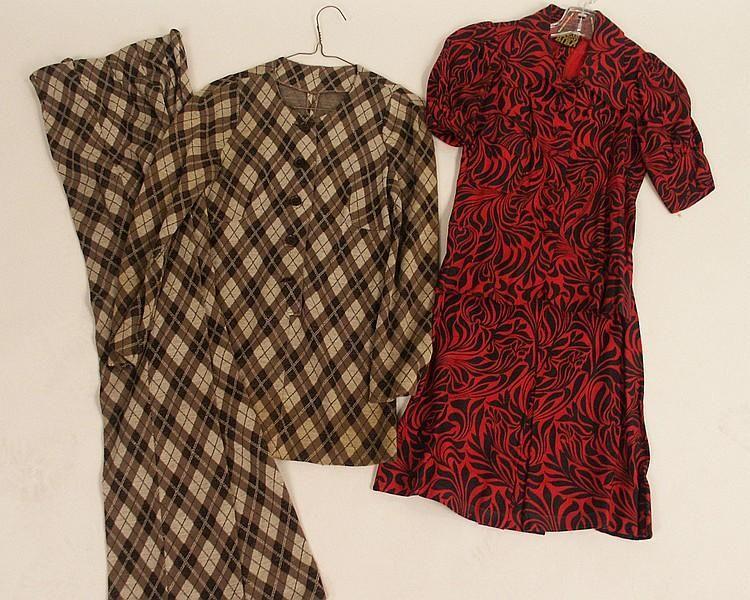 Biba dress, top and pants