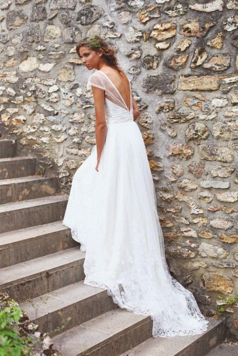 weddings les plus belles robes de mari es du printemps. Black Bedroom Furniture Sets. Home Design Ideas