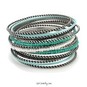 Tourquoise Playground Bangle Bracelet $18~ Free shipping to the 48 USA state