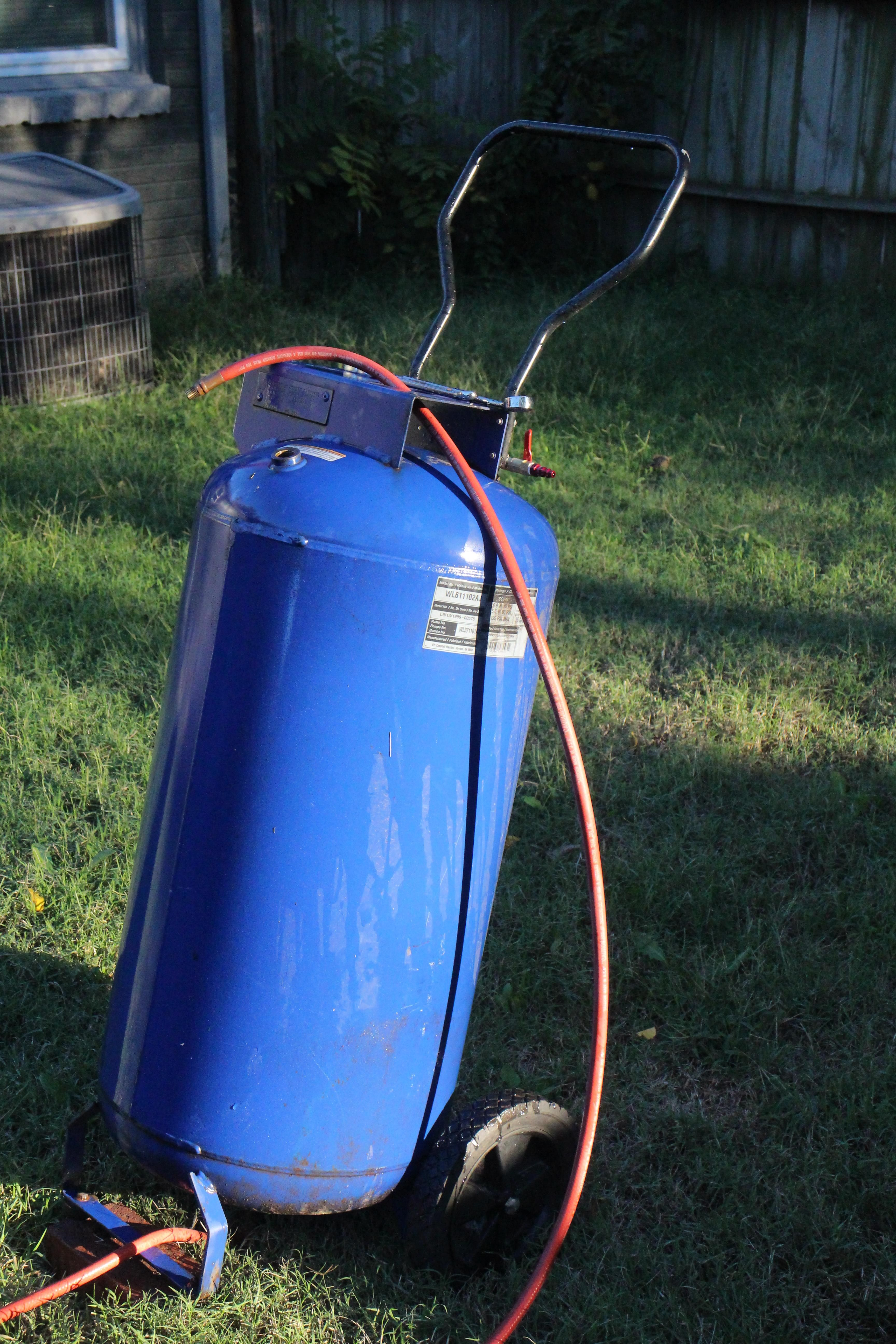 Air Compressor Repair and Upgrade handmade crafts HowTo