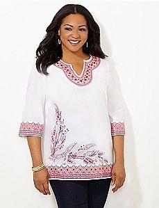 Mahalo Kurta Plus Size Plus Size Shirts Catherines Plus Size