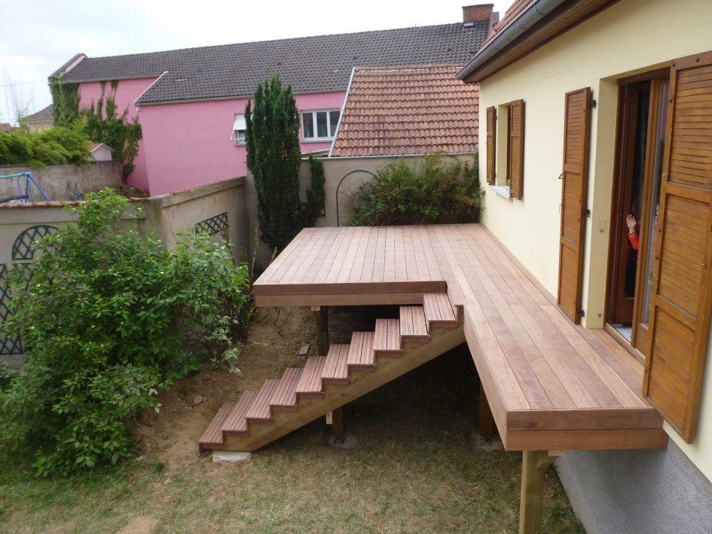 Piscine En Bois Alsace terrasse bois en alsace, terrasse sur pilotis, terrasse en