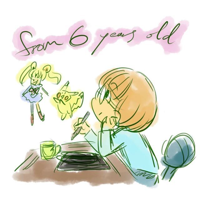 ブランクを埋める段階だな。今は。  前進するためには後ろを見ない。っていう気持ちも大事だけど、 過去に大事なものが置いてあるコトもある。  みんなが知らないmisato 自分でも封印していたmisato  まさか、今になって大事な要素になるなんて  #pokemon #pikachu #sailormoon #illustration #お絵かき#過去 #past #drawing #throughback