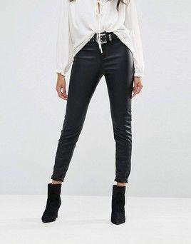 52ebd30f5ed40f rewardStyle River Island Leather Look Skinny Pants | Looks I Love ...
