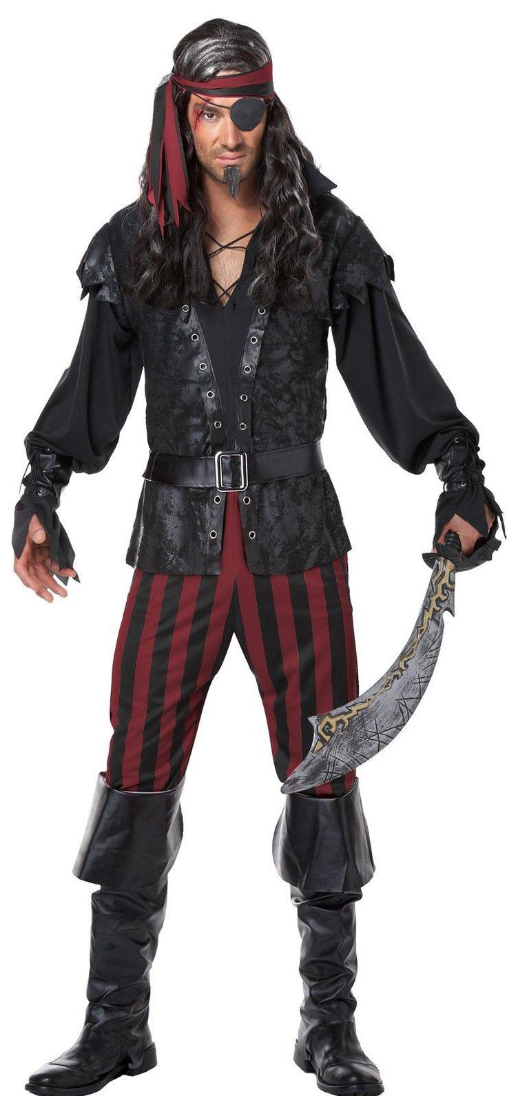 Target Costumes For Adults: Mens Ruthless Rogue Pirate Costume