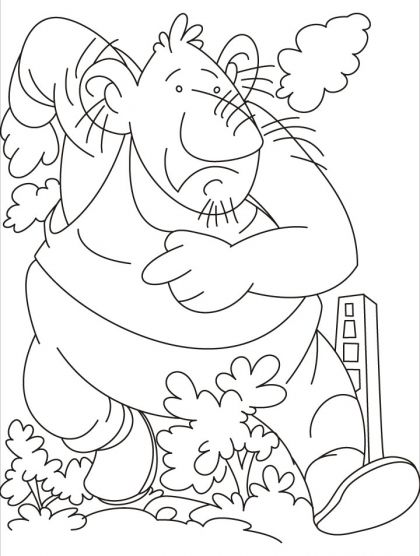 A giant leap by a giant coloring pages | Download Free A giant leap ...