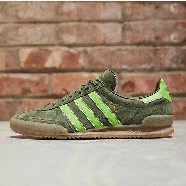 Details zu Adidas Jeans Men Schuhe Herren Retro Originals Sneaker Leder Freizeit Turnschuhe