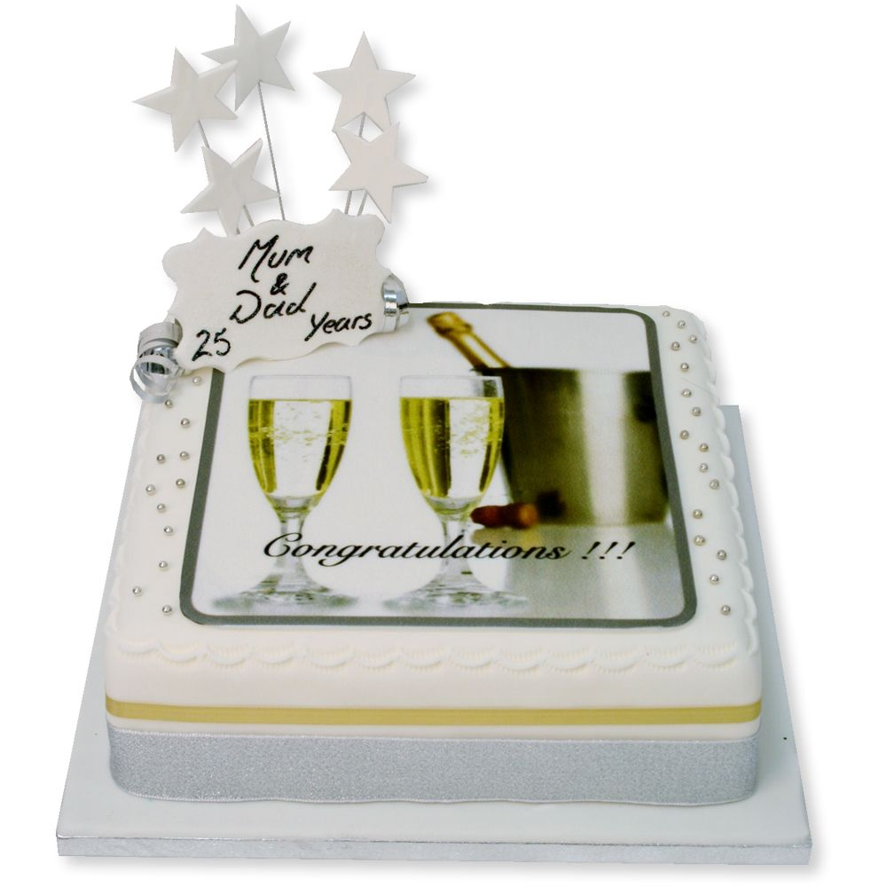 The Brilliant Bakers Congratulations Cake, £52.00 (https