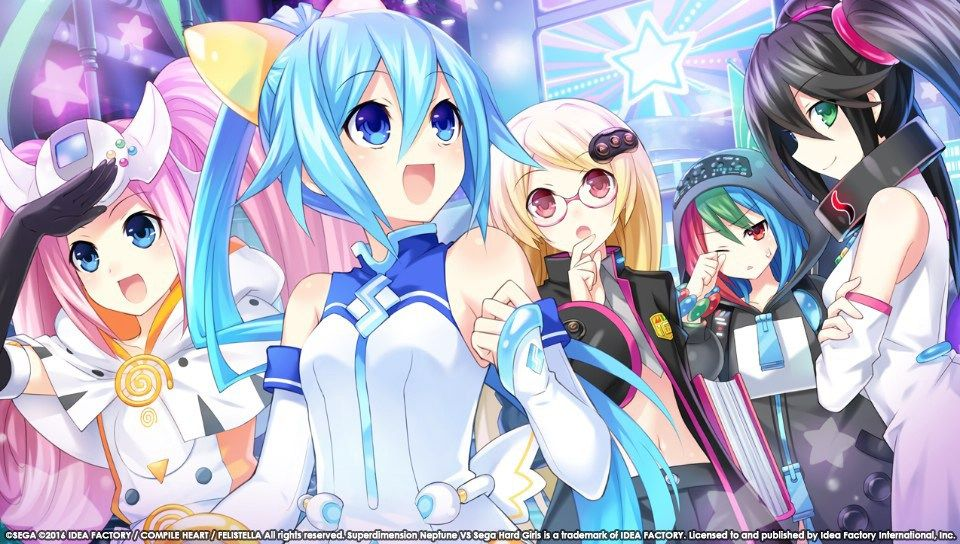 Superdimension Neptune Vs Sega Hard Girls New Dialogue Screenshots Anime Disgaea A Hat In Time