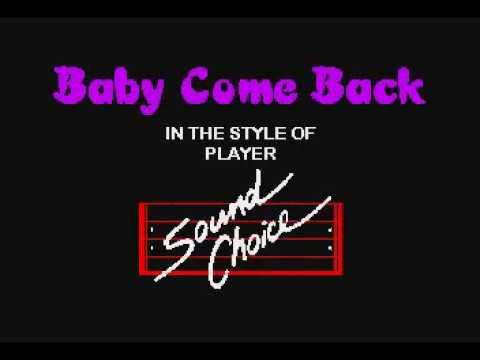 BEST KARAOKE Baby Come Back - Player