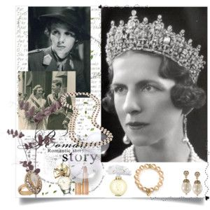 Queen Anne of Romania and Queen Mother Helen of Romania