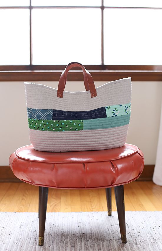 Market Bag pattern from Handmade Style by Anna Graham