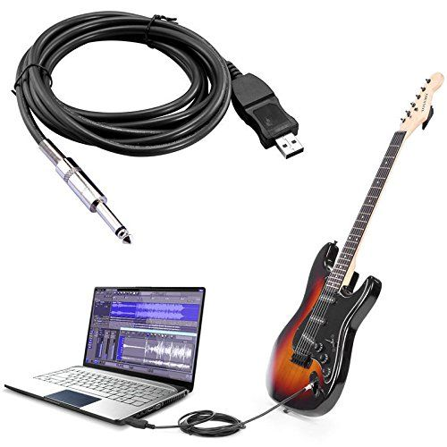 cloulds zone 3m bass electric guitar 14 usb to 63mm connection hot connecting cable you can. Black Bedroom Furniture Sets. Home Design Ideas
